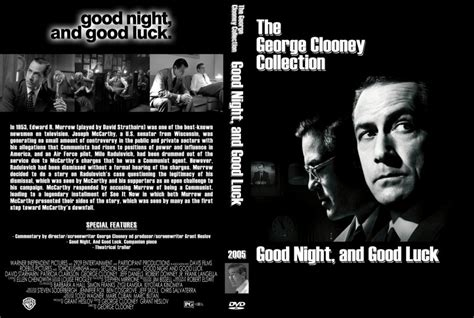 Good Night And Good Luck - Movie DVD Custom Covers - Good