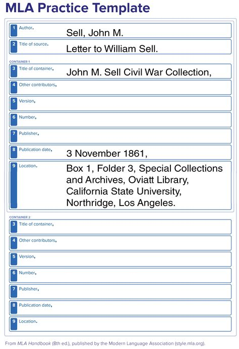 Works Cited - Citing Archival Materials - LibGuides at