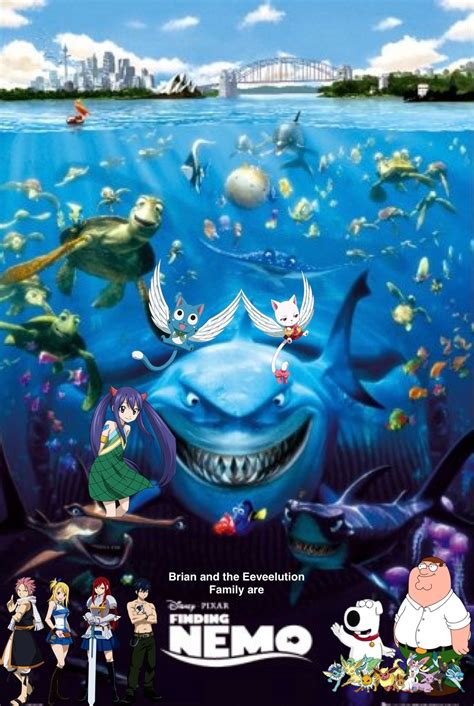Brian and the Eeveelution Family are Finding Nemo | Pooh's