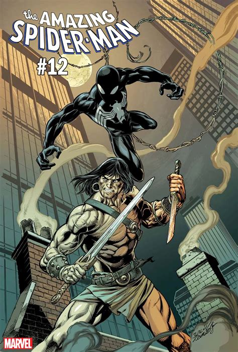 Conan Takes on Marvel Heroes and Villains in Variant