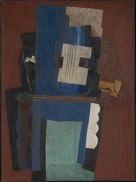 Pablo Picasso | Guitar and Clarinet on a Mantelpiece | The Met