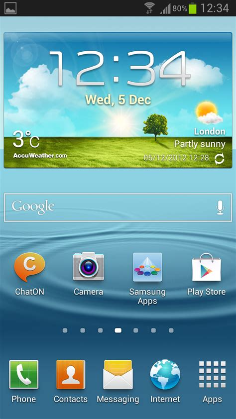 Galaxy S III receives Android 4