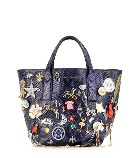 MARC JACOBS : SS2016 Wingman Mini embellished embossed leather shopper | Sumally