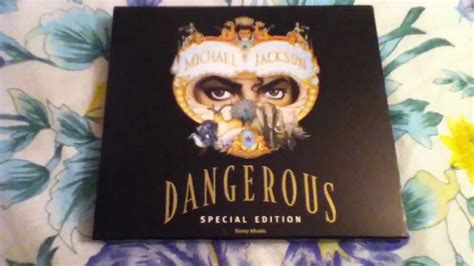 Michael Jackson Dangerous Special Edition (WIth Slipcase