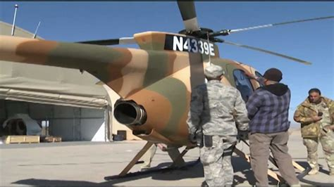 Afghan Air Force gets new MD530 Helicopters - YouTube