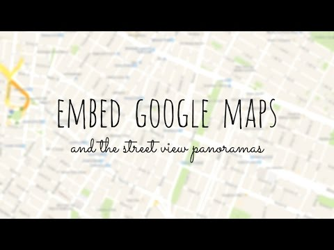 How to add google map to website