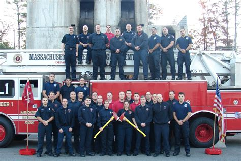 Winchester firefighters graduate Massachusetts