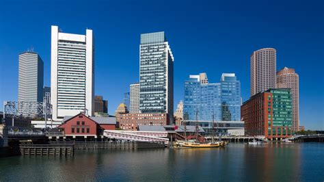 Boston Skyline Free Stock Photo - Public Domain Pictures